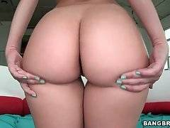 Pretty Babe Demonstrates Her Delicious Ass 3