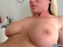 Big titted mature hottie is fond of getting fucked hard.