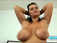 Those big tits of hers are just a touch larger. That curvy ass of hers has that extra bounce to the ounce. It's a no brainer that she takes out the extra vibrator to fill both of her hungry holes with tools of buzzing excitement.
