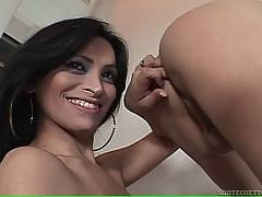 Hot Big Tited Shemale Works Her Mouth 2
