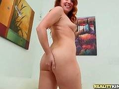 Redhead Teenie Strips For Your Pleasure 3